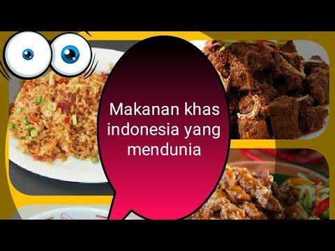 Video Top 5 makanan khas indonesia yang mendunia-faizz official 2