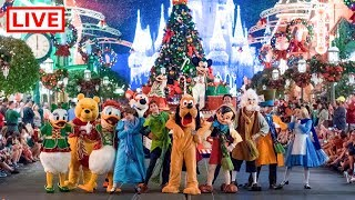🔴 LIVE:  The FIRST Mickey's Very Merry Christmas Party of 2018! 🎄✨🎅🏻 || Walt Disney World