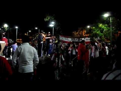 """""""Tecnico Universitario en la A"""" Barra: Furia Roja • Club: Técnico Universitario • País: Ecuador"""