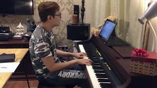 """Johnny Keys sings an acoustic version of """"Chắc Anh Đang"""" by Tiên Tiên"""