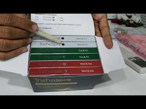 Dosage of Trichospire Hair Kit - In Hindi