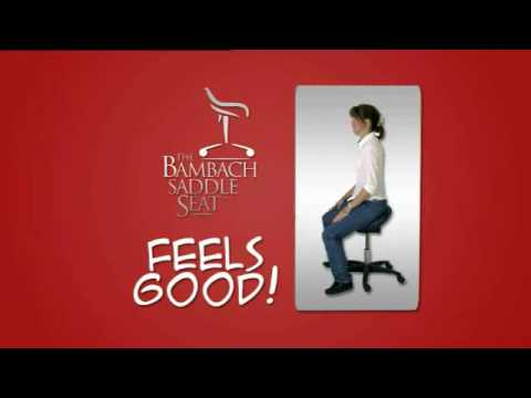 Bambach Saddle Seat Ergonomic Back Support Seating Solutions