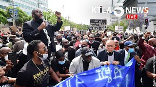 Protests, unrest continues in Los Angeles in wake of after George Floyd killing | KTLA 5 News