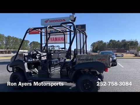 2019 Kawasaki Mule 4010 Trans4x4 Camo in Greenville, North Carolina - Video 1