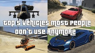 GTA Online Top 5 Vehicles Most People Don