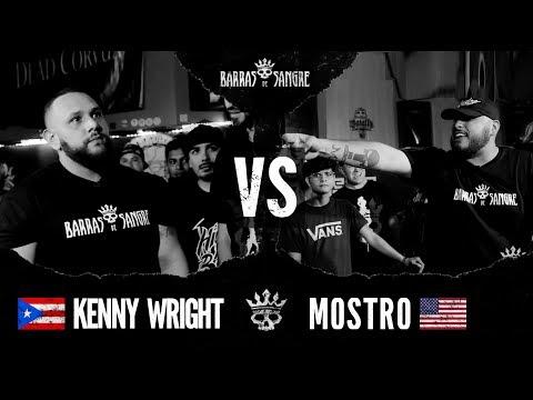 Barras De Sangre: Kenny Wright 🇵🇷 vs Mostro 🇺🇸 [ Batallas Escritas ]