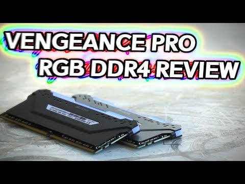 Vengeance RGB PRO DDR4 Memory Review – 3200MHz CL16 iCUE GOODNESS