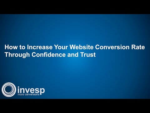 How to Increase Your Website Conversion Rate Through Confidence and Trust
