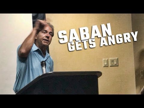 Nick Saban goes off on satellite camp issue