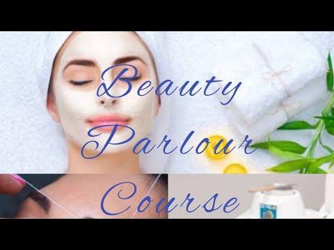 Beauty parlour course series (class 1) Online free Parlour course ...