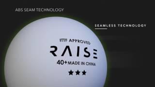 RAISE Мячи пластиковые шовные PREMIUM TRAINING 40+ 100шт.