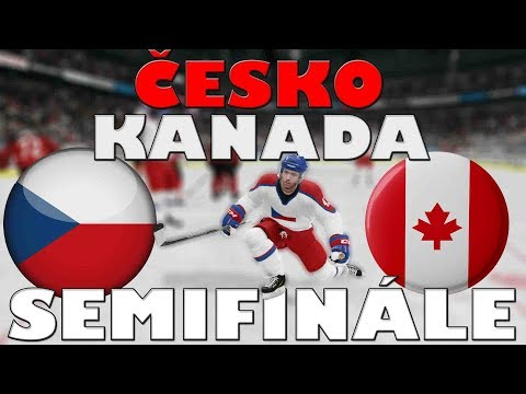 ČESKO - KANADA | SEMIFINÁLE | MS 2019 | NHL 19 | CZ/SK