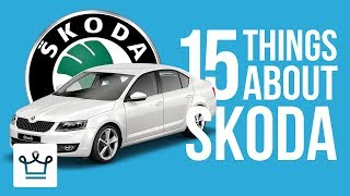 Gambar cover 15 Things You Didn't Know About ŠKODA