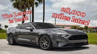 28k miles on my 2018 Mustang GT (What issues to expect!)