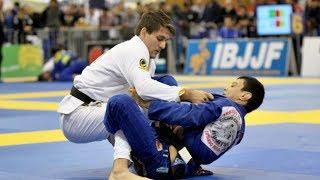 Rafael Mendes vs Paulo Miyao   IBJJF Europeans 2014   Art of Jiu Jitsu Academy