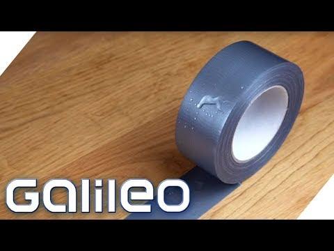 Duct Tape - Unzerstörbarer Alltagsheld? | Galileo | ProSieben