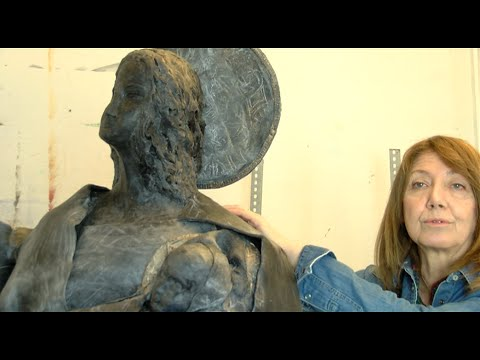 Françoise Bissara-Fréreau, sculpteur pour le Christ