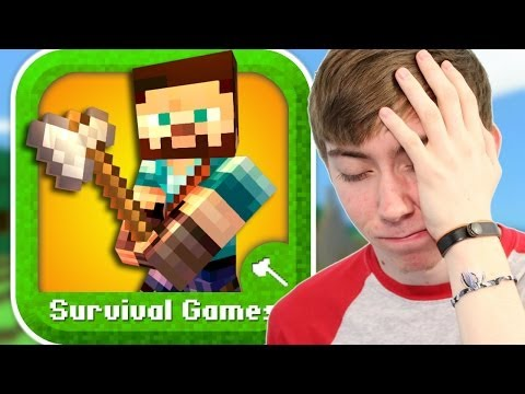 SURVIVAL GAMES - MINE MINI GAME (iPhone Gameplay Video)