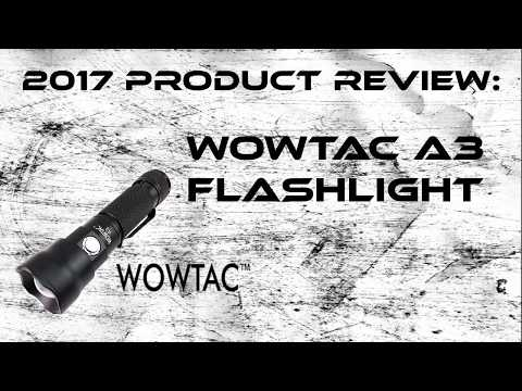 Wowtac A3 Flashlight Review