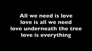 Ariana Grande - Love is everything (lyrics)