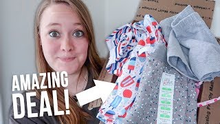 TONS OF KIDS CLOTHES...FOR CHEAP! I Bought Something Instagram Recommended To Me 😬
