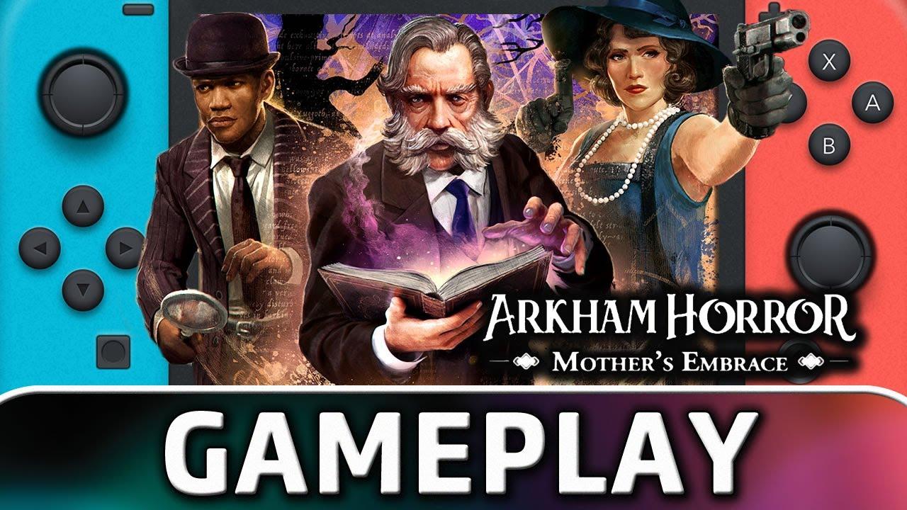 Arkham Horror: Mother's Embrace   Nintendo Switch Gameplay