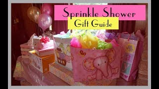 What We Received At Our Sprinkle Shower | Baby Shower Gifts