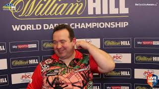 "Brendan Dolan: ""I think I've sped up so I don't think Gary should complain about my pace"""
