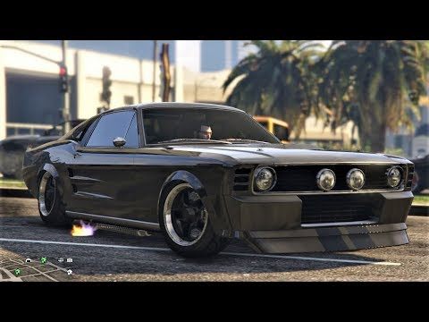 "E220 Our Vapid Ellie ""Eleanor"" Custom GT500 Mustang Review! - Let's Play GTA 5 Online PC 60fps"