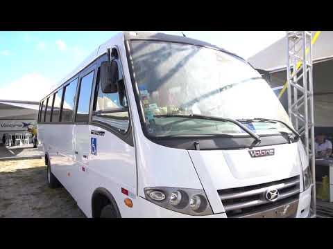 Rovema leva pneus XBRi e ônibus Volare à RRS