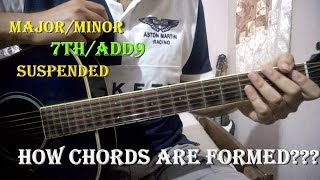 How Guitar/Music Chords Are Formed ???? Clear all your doubts