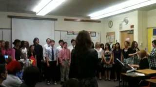 CMJH choir competition