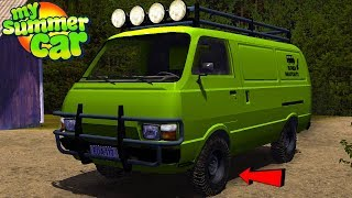 NEW OFFROAD VAN - My Summer Car