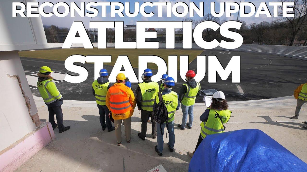 Atletický štadión – aktualizácia