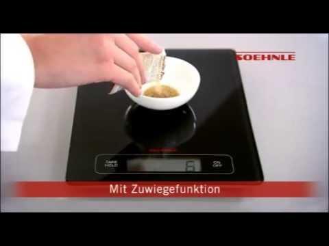 Soehnle digitale Küchenwaage Page Profi - DE
