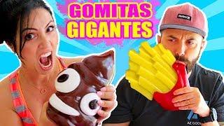 Las GOMITAS Más GIGANTES Del MUNDO! Giant Gummy Food Ft El Pipi - SandraCiresArt