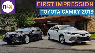 First Impression All New Toyota Camry 2019 | OLX Indonesia