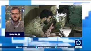 Syrian army approaches Palmyra