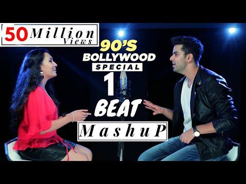 1 BEAT Mashup -  90's  Bollywood - SINGOFF | Singh's Unplugged (Ft. Gurashish Singh, Kuhu)|Cover