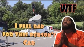 Destroying My Friend's Car And Surprising Him With A New One | Reaction