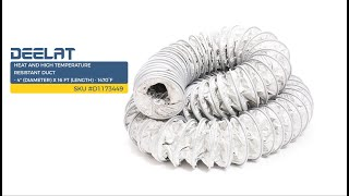 Heat and High Temperature Resistant Duct - 4