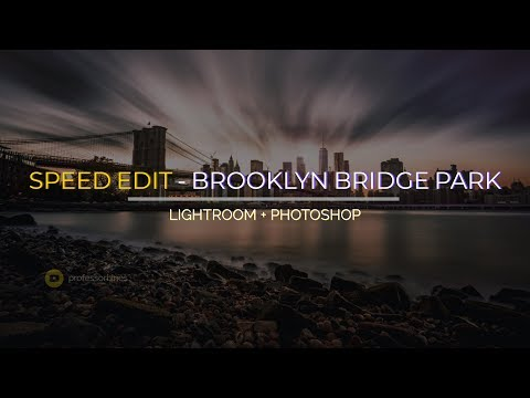 Download Cityscape Photography: Brooklyn Bridge Park Sunset (Sony α7R III) - Speed Edit Mp4 HD Video and MP3