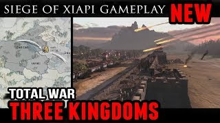 Total War: Three Kingdoms - Siege of Xiapi Gameplay (+Campaign Images)