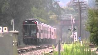 preview picture of video 'NS OCS on Southern Tier Line at Owego, NY - August 24, 2011.'