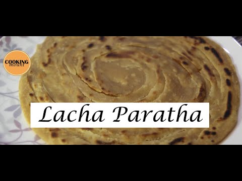 Lacha Paratha | Whole Meal Wheat Flour Lachedar Paratha | In Food Studio