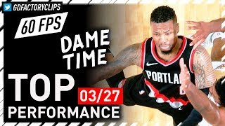 Damian Lillard COLD Full Highlights vs Pelicans - 41 Pts, CLUTCH | 2018.03.27