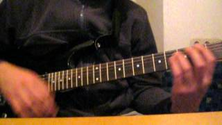 """Guitar lesson - """"Self Esteem"""" by The Offspring"""
