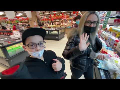 Explorando supermercado na China  #china #supermarket #curiosidades