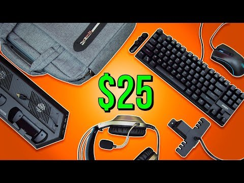 Best Budget Gaming Gear Under $25 - Holiday Gift Guide