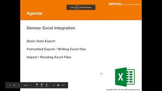 Servoy and Excel - Importing and Exporting data